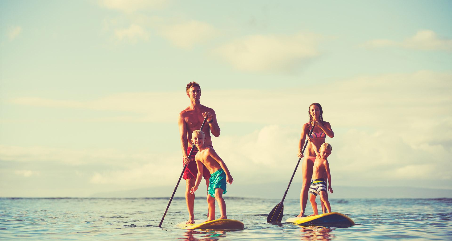 Mauritius stand up paddle